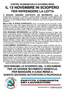 volantino SCUOLA NOVEMBRE 2015